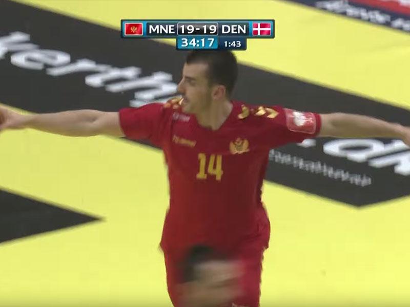 Vujovićev gol za pamćenje protiv Danske